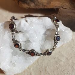 Bracelet GRENAT - Argent 925