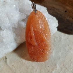 Pendentif CALCITE ORANGE...