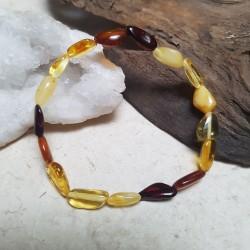 Bracelet Ambre Baltique 17cm