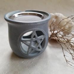 """Brûleur """"Pentacle"""" gris"""