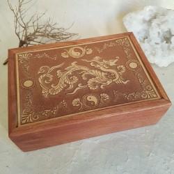 Coffret / Boîte à Tarot - DRAGON...