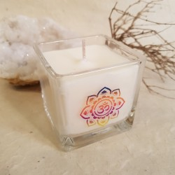 Bougie parfumée Cire de Colza - OM