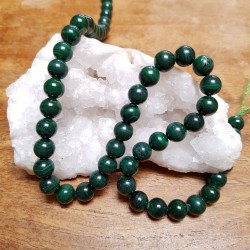 Perle  MALACHITE 8mm / Lot...