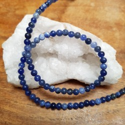 SODALITE 5mm / Lot 10 Perles