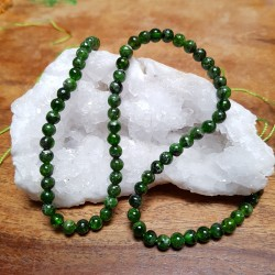 DIOPSIDE 5mm / Lot 10 Perles