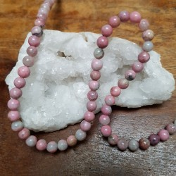 Perle  RHODONITE claire 6mm...
