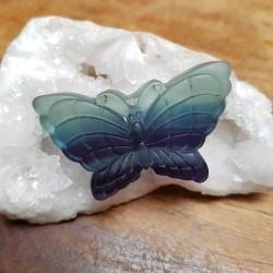 Pendentif Papillon FLUORITE