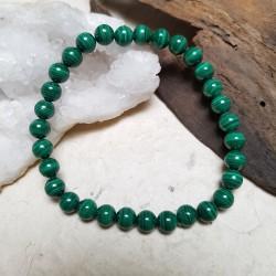 Bracelet MALACHITE 17cm