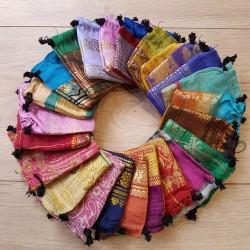 Pochette Tissu Indien
